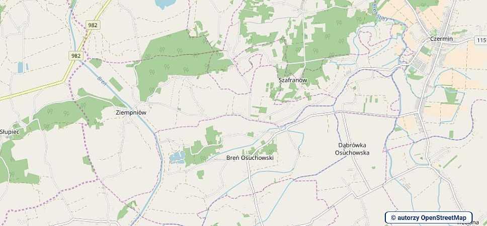 lokalizacja oferty 3108 LOKUM Nieruchomości Mielec na mapach OpenStreetMap