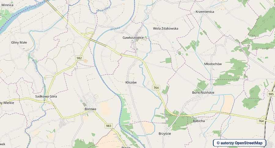 lokalizacja oferty 3109 LOKUM Nieruchomości Mielec na mapach OpenStreetMap