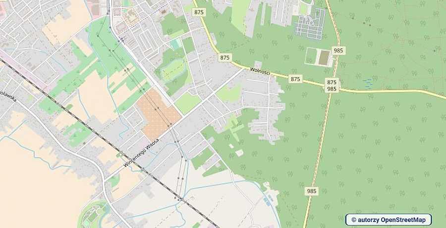 lokalizacja oferty 3100 LOKUM Nieruchomości Mielec na mapach OpenStreetMap